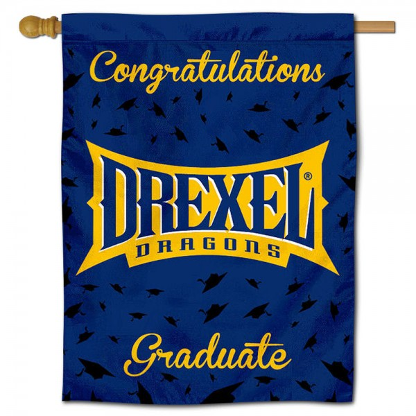 Drexel Dragons Graduation Banner