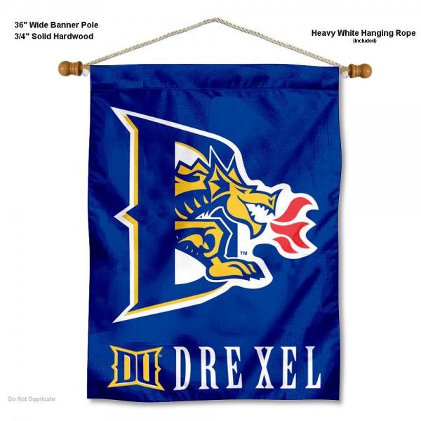 Drexel Dragons Wall Hanging