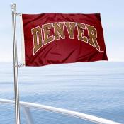 DU Pioneers Boat Nautical Flag