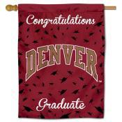 DU Pioneers Graduation Banner