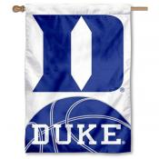 Duke University Basketball Logo House Flag
