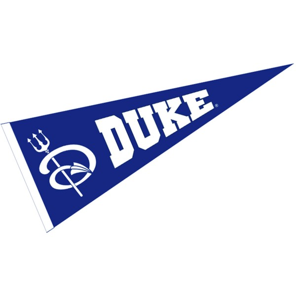 Duke University Wool Blend Pennant