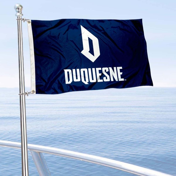 Duquesne Dukes Boat Nautical Flag
