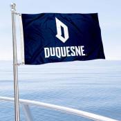 Duquesne Dukes Boat Nautical Flag