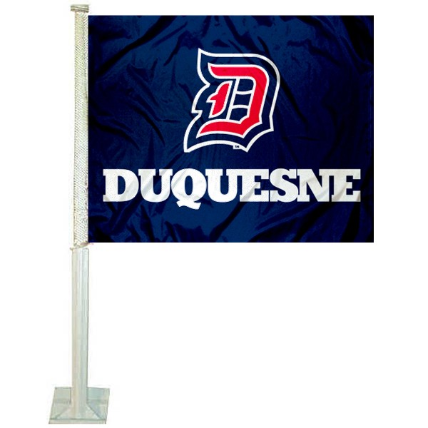 Duquesne Dukes Car Flag