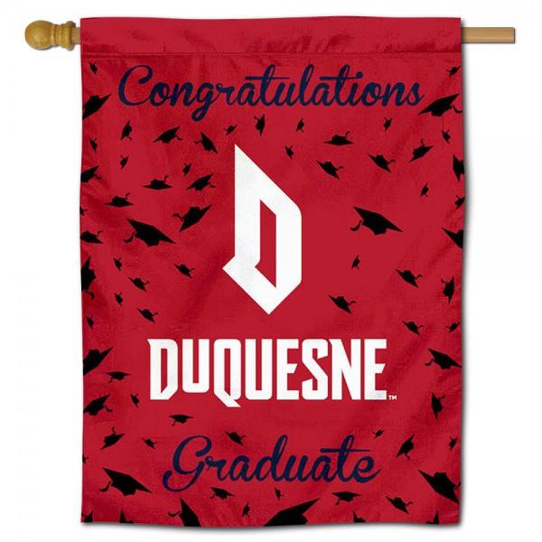 Duquesne Dukes Graduation Banner