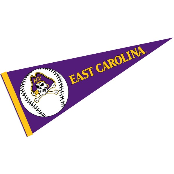 East Carolina Pirates Baseball College Pennant