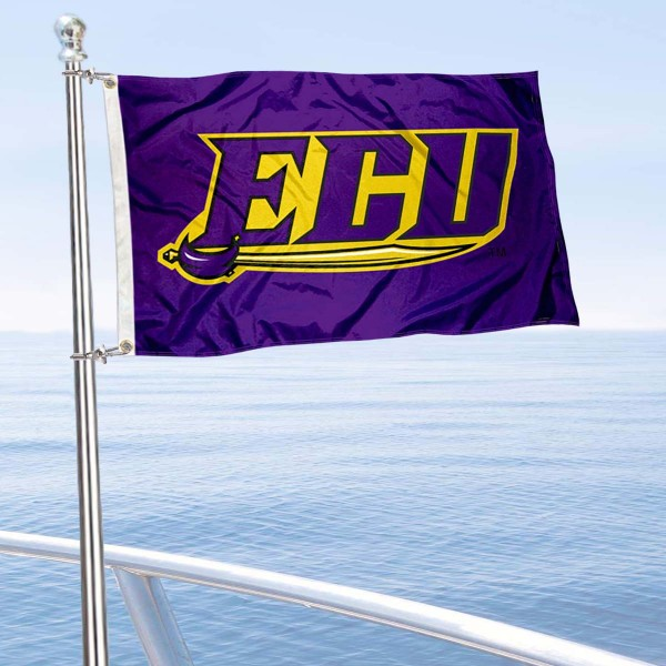 East Carolina Pirates Boat Flag