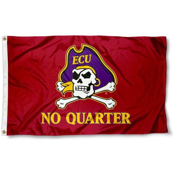 East Carolina Pirates No Quarter Flag