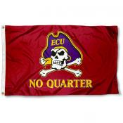 East Carolina Pirates No Quarter Flag