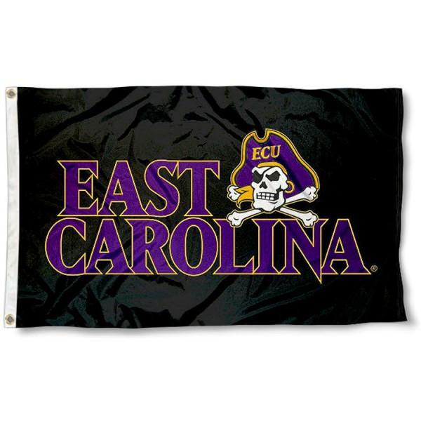 East Carolina University Black Flag