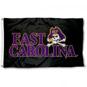 East Carolina University Black Flag