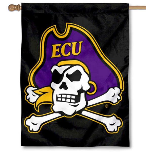 East Carolina University Logo House Flag