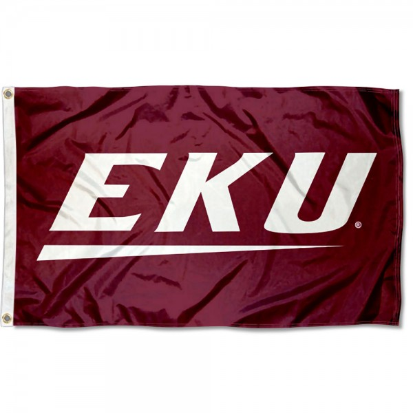 Eastern Kentucky University 3x5 Foot Grommet Flag