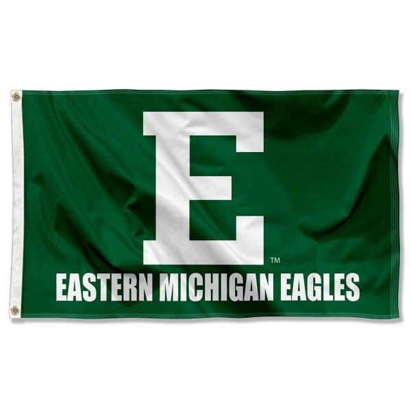 Eastern Michigan University Eagles Banner Flag