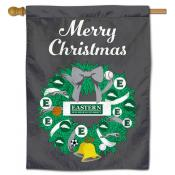 Eastern New Mexico Greyhounds Christmas Holiday House Flag