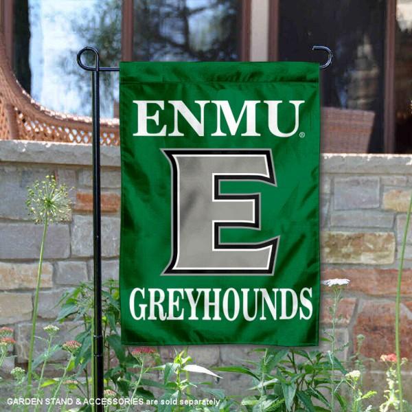 Eastern New Mexico Greyhounds Garden Flag