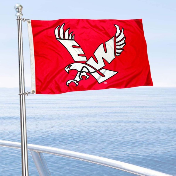 Eastern Washington Eagles Boat Flag