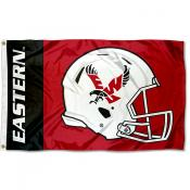 Eastern Washington Eagles Helmet Flag