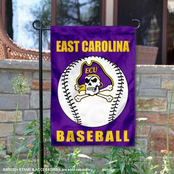 ECU Pirates Baseball Garden Flag