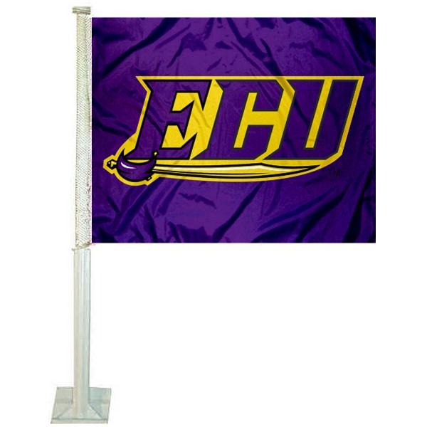 ECU Pirates Car Flag