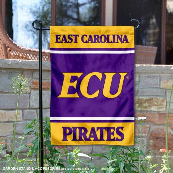 ECU Pirates Garden Flag