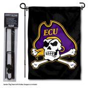 ECU Pirates Garden Flag and Holder