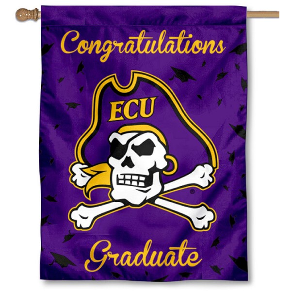 ECU Pirates Graduation Banner