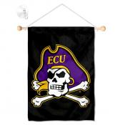 ECU Pirates Small Wall and Window Banner