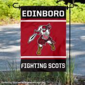 Edinboro University Fighting Scots Garden Flag
