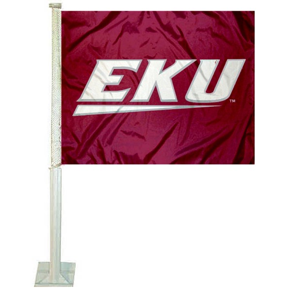 EKU Colonels Car Flag