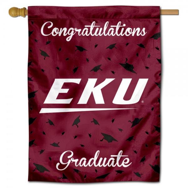 EKU Colonels Graduation Banner