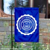 Elizabeth City State Vikings Insignia Double Sided Garden Flag