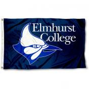 Elmhurst Bluejays Flag