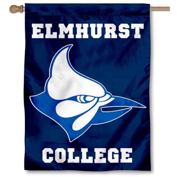 Elmhurst College House Flag