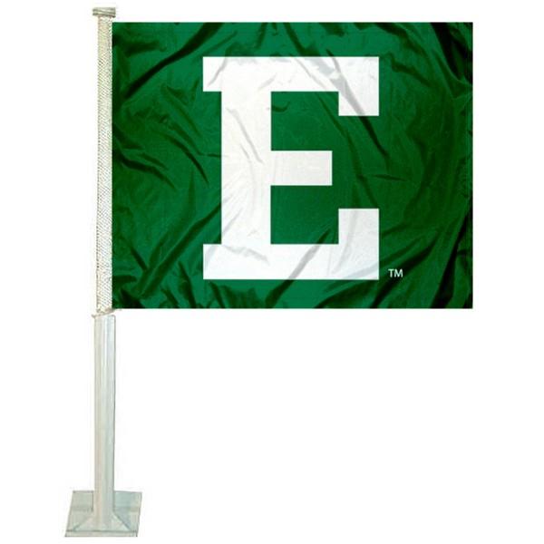 EMU Eagles Logo Car Flag