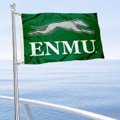 ENMU Greyhounds Boat Nautical Flag