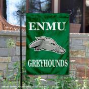 ENMU Greyhounds Mascot Garden Flag