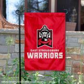ESU Warriors Double Sided Garden Flag