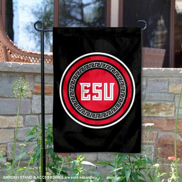 ESU Warriors Garden Flag