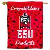 ESU Warriors Graduation Banner