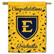 ETSU Bucs Graduation Banner