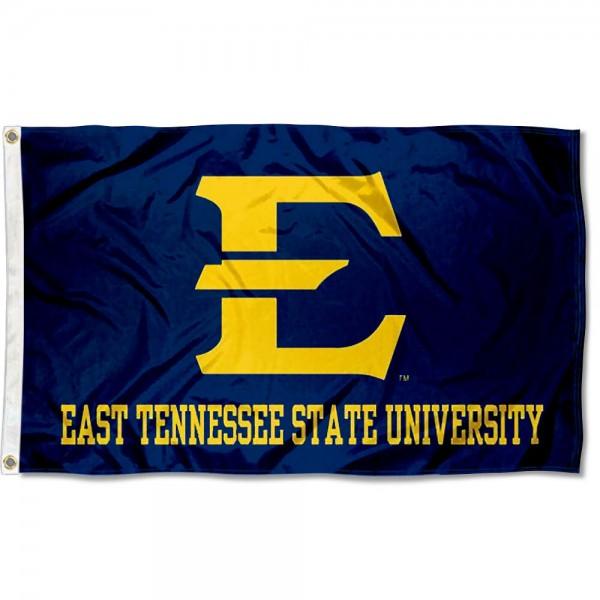 ETSU Bucs New Logo Flag