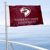 Fairmont State Boat Nautical Flag