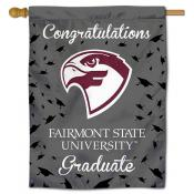 Fairmont State Fighting Falcons Graduation Banner