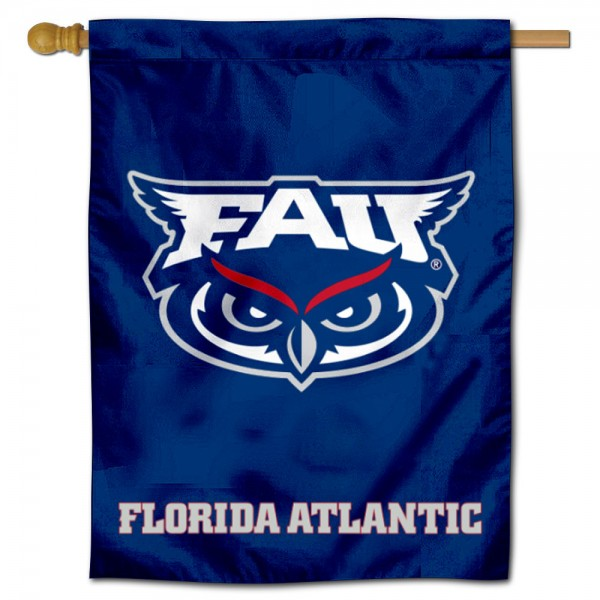 FAU Owls Blue House Flag