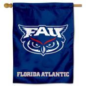 FAU Owls Blue House Flag