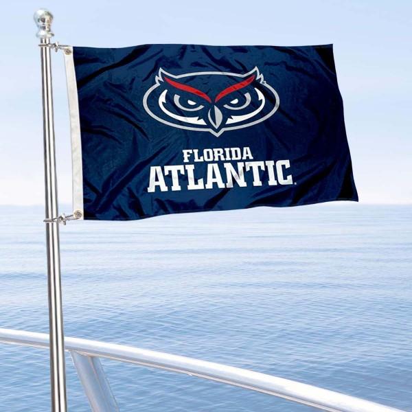 FAU Owls Boat Nautical Flag