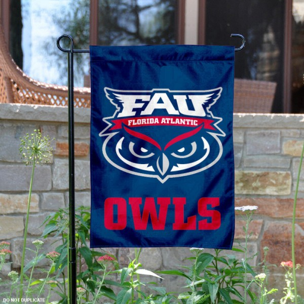 FAU Owls Garden Flag