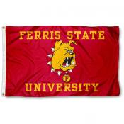 Ferris State Bulldogs Flag